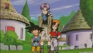 Dragon Ball GT Capitulo 07 - Trunks se viste de novia