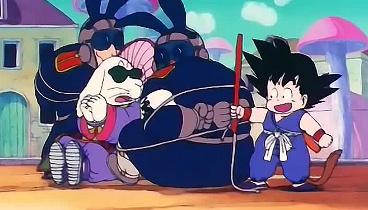 Dragon Ball Capitulo 09 - El truco especial del Jefe Conejo