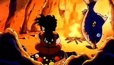 Dragon Ball Z Capitulo 10 - No llores Gohan, es la primera batalla