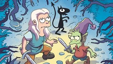 Desencanto Temporada 01 Capitulo 01 - Una princesa, un elfo y un demonio entran a un bar