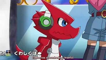Digimon Xros Wars Capitulo 15 - Problemas En El Paraíso