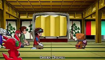 Digimon Xros Wars Capitulo 25  - ¡Duelo en Ciudad Frágil, una Zona se Colapsa!