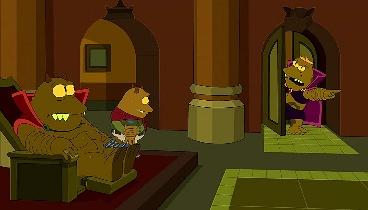 Futurama Temporada 07 Capitulo 16 - La gran escapada de Fry y Leela