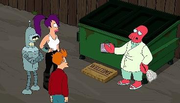 Futurama Temporada 07 Capitulo 25 - Peste y Pestilencia