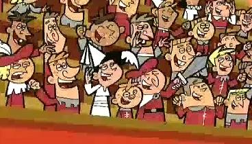Los padrinos magicos Temporada 02 Capitulo 08 «Maxi mamá y súper papá»  «El caballero caballeroso»