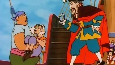 Las aventuras de Peter Pan Capitulo 06 - John se une a los piratas