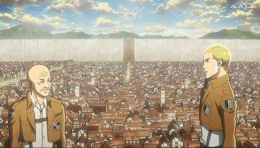 Shingeki no Kyojin Temporada 01 Capitulo 14 - Sigo sin poder ver: Preludio a la contraofensiva, Parte 1