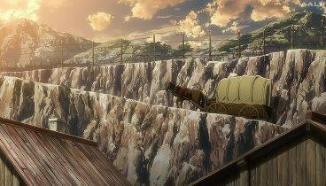 Shingeki no Kyojin Temporada 01 Capitulo 03 - Una tenue luz en la desesperación: La restauración de la humanidad, Parte 1