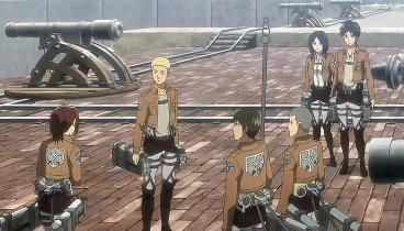 Shingeki no Kyojin Temporada 01 Capitulo 04 - La noche de la desbandada: La restauración de la humanidad, Parte 2