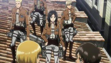 Shingeki no Kyojin Temporada 01 Capitulo 05 - La primera batalla: La defensa de Trost, Parte 1