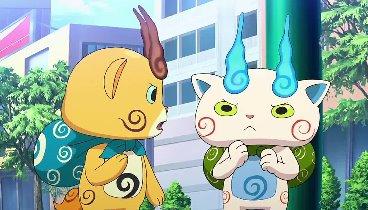 Yo-kai Watch Temporada 01 Capitulo 13 - Komasan en la Ciudad: Víveres en Bajo Presupuesto/Yo-kai Reboca / Los Bailarines Yo-kai/ Cantonio: El Gran Escape Perruno: Episodio 2